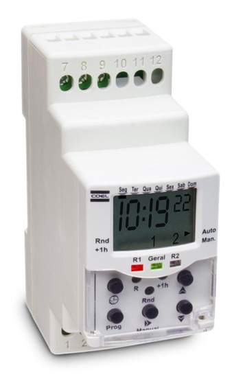 Bwt40hrr Programador Horário Coel 100/240vca
