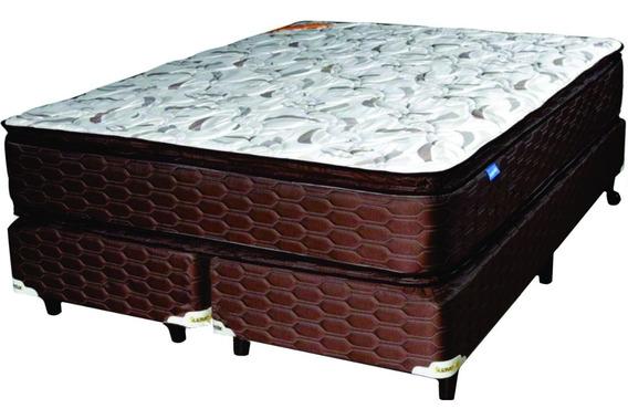 Sommier Y Colchon Suavestar Superstar Pillow 160x200 Cuotas