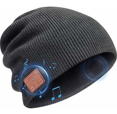 Gorro Con Altavoces Blulu Beanie Bluetooth Unisex -gris