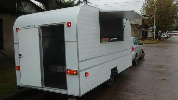 Trailer Gastronomico 4 Mts (food Truck) Dako