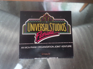 Caixa De Fosforo Universal Studios Florida Mca Estados Unido