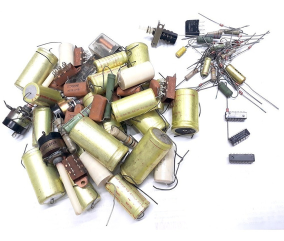 Capacitor Resistor Chaves Ci Rele 90 Peças (kit 15-d)
