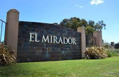 Oportunidad Lote Central En Venta, El Mirador Club De Campo