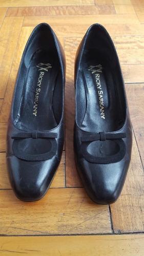 Zapatos Negros Ricky Sarkany Vintage