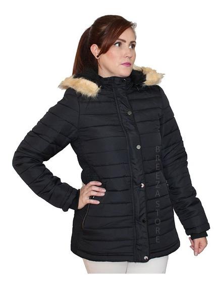 Jaqueta Casaco Blusa De Frio Inverno Com Capuz Promoção 2020