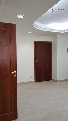 Sala Para Alugar, 115 M² Por R$ 3.000,00/mês - Centro - Santo André/sp - Sa0320