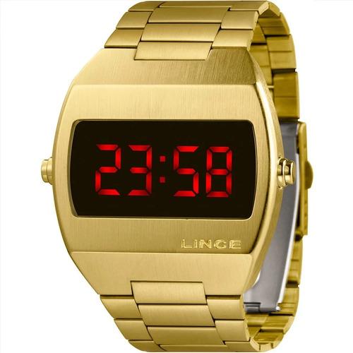 Imagem 1 de 10 de Relógio Masculino Lince Digital Mdg4620l Vxkx