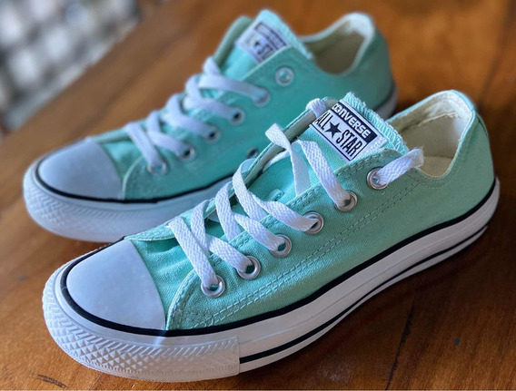 Zapatillas Converse All Star Usa Verde Menta