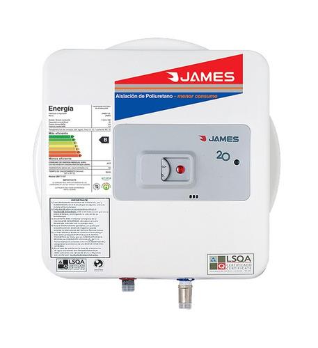 James - Termotanque 20 Lts - Acero - Prisma Bigsale