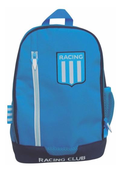 Mochila Espalda Grande 16p Futbol Racing Club Rc001 Manias