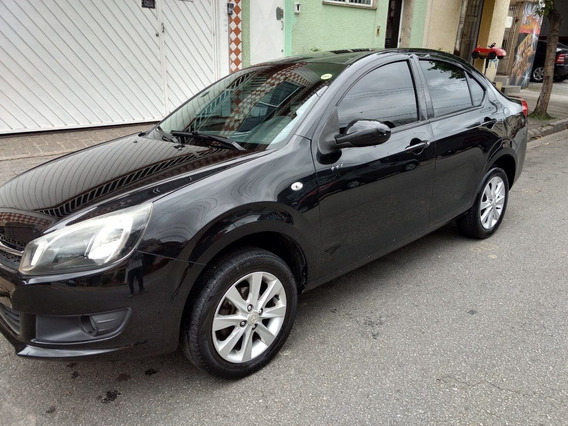 Jac J3 Sedan Turin 1.5 Jetflex Carro 2015 Completo! Economic
