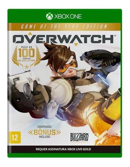 Overwatch Goty Xbox One Mídia Física Nacional Lacrado Rj