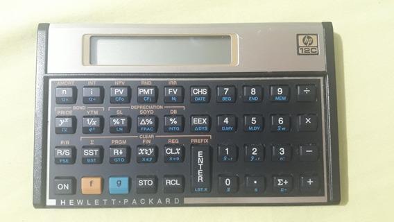 Calculadora Hp 12c Gold (semi Nova)