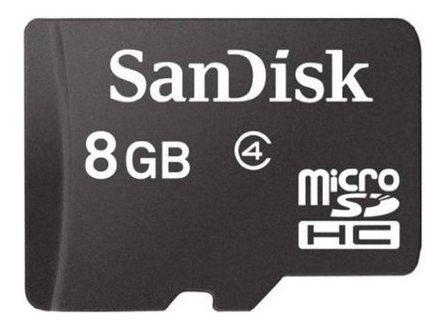Cartão De Memória Sandisk 8gb Micro Sd Original