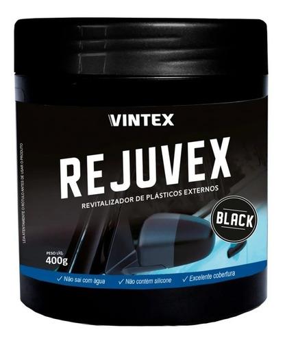 Rejuvex Black Revitalizador De Plástico Externos 400g Vonixx