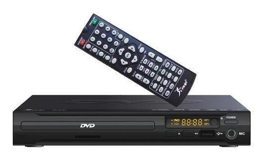 Dvd Cd Player Usb Com Karaoke Mp3 Mp4 - Knup