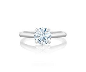09d6edc769db Anillo De Compromiso Diamante Color I Si1 De .51 Qts Hwo - Anillos ...