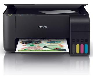 Impresora Epson L3110 Ecotank Multifunción Sistema Continuo