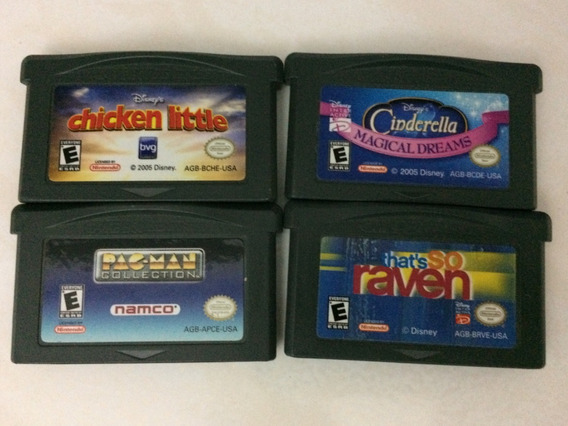 Lote 4 Juegos Gba Game Boy Advance