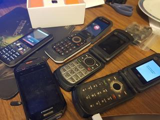 Lote De 5 Aparelhos Nextel Motorola - Todos Funcionando