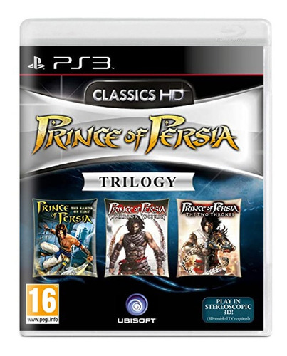 Prince Of Persia Trilogy - Ps3 - Novo - Mídia Física