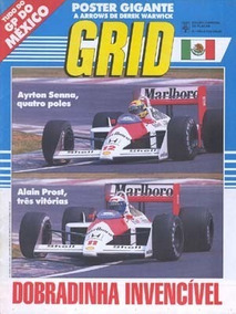 Grid 939-a - Edição Especial Placar - Gp México 1988