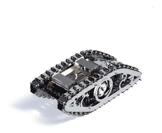 Tanque Marvel 2 Acero Armar Bloques Modelismo Juguete Escala