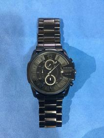 Relógio Diesel Preto Aço Inoxidável Dz4180