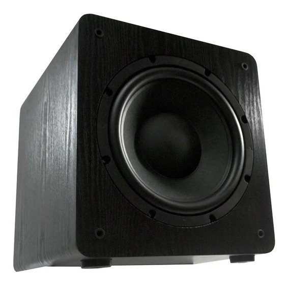 Wave Sound Wsw10 200w Rms Subwoofer Ativo Para Home Theater