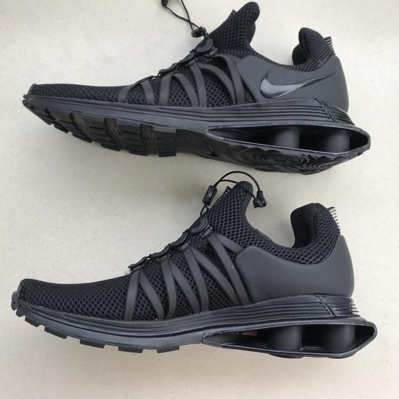 Tênis Nike Shox Gravity Black Masculino Original N. 40