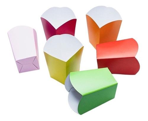Empaque De Crispetas Pequeña Color X - Unidad a $1