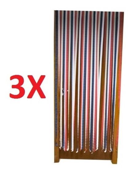 3 Tela Cortina Magnética Anti Inseto Dengue Debre Amarela