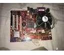 Kit Placa Mãe 775 Ddr2 2gb + Cpu Dual Core E2200