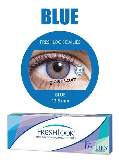 Pupilentes Freshlook Color Blend One Day 1par Dailies +envío