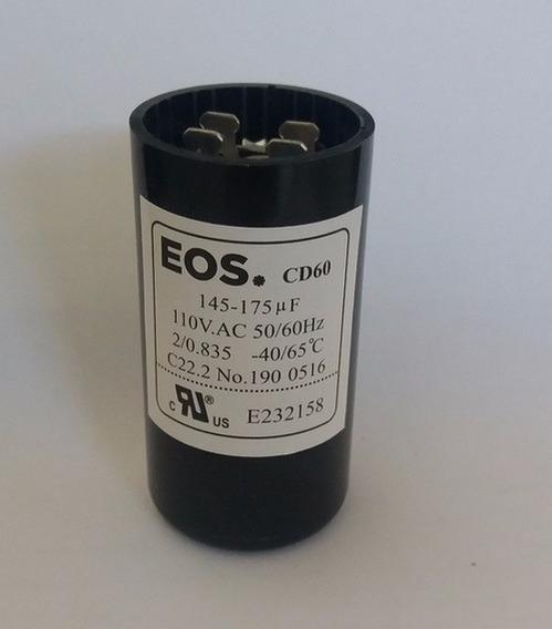 Capacitor Eletrolítico De Partida 108/130mfd 1/8 110v