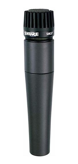 Microfone Shure SM57 dinâmico