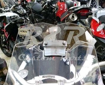 Defletor Bmw G650 Gs Para-brisa Moto Transparente Até 2013