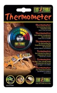 Termómetro De Reloj Para Terrario Reptil