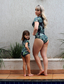 Kit Body Mae E Filha Lindo