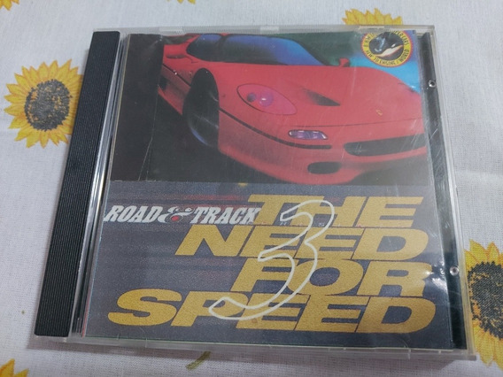 Need For Speed Iii 3 Over Drivin Ps1 Patch Prensado Prateado
