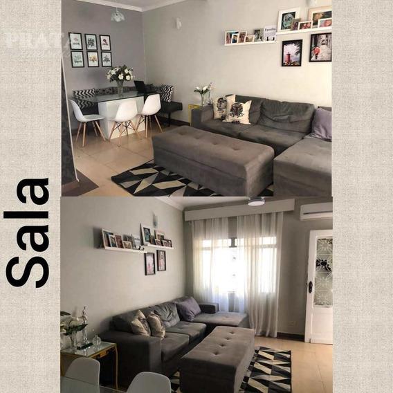 Macuco Santos 2 Dorms, Sala 2 Ambientes, Coz Planejada, Área, - V398536