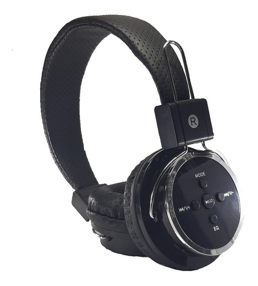 Fone S/ Fio Bluetooth Chamadas Sd Fm Mp3 Usb Aux P2