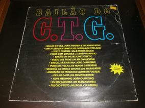 Capa Lp Bailão Do C.t.g, Disco Vinil - Obs