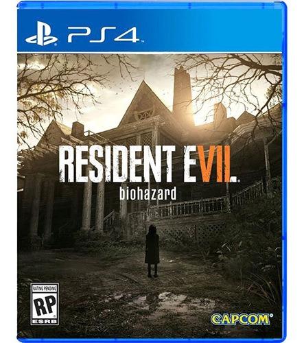 Resident Evil 7 - Ps4 Midia Fisica