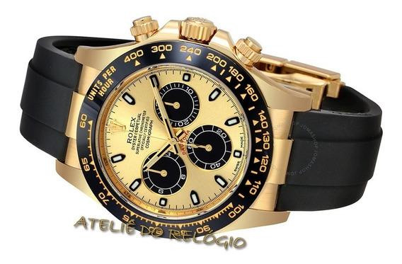 Relógio Acab. Eta - Modelo Day.tona Gold Ceramic
