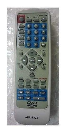 Cr-2133 Controle Remoto Para Dvd Vicini Apl1308 Paralelo