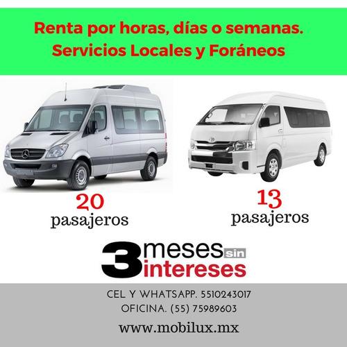 Imagen 1 de 6 de Renta De Camionetas Para Excursiones