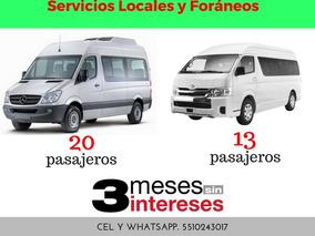 Renta De Camionetas Sprinter Viajes