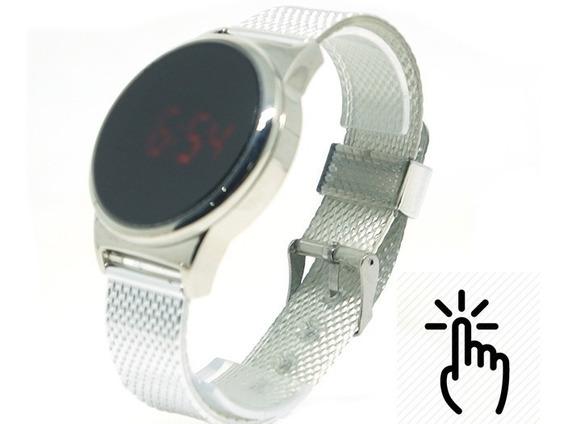 Relógio Feminino Digital Easy Touch Prata