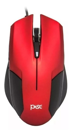 Mouse Usb Gamer Figther 6 Botoes 2000 Dpi 1878 - Pisc